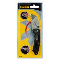 nóż uniwersalny utility składany ostrze trapezowe stanley 10-855