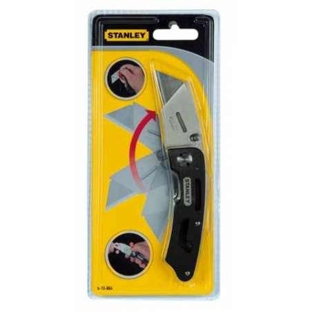 Nóż uniwersalny Utility składany ostrze trapezowe Stanley 108550