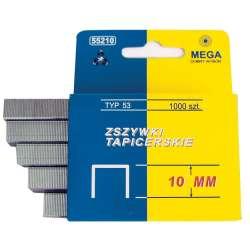 Zszywki hartowane Typ A 53 l:10mm Mega 55210