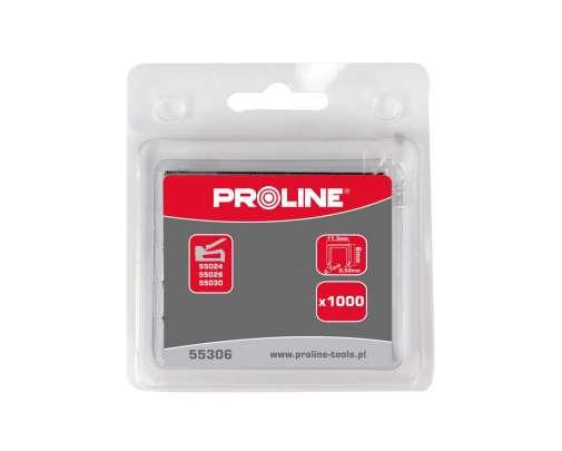 Zszywki hartowane typ A 53 L:12mm Proline