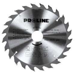 Piła tarczowa z węglikiem spiekanym do drewna 140 mm 24 zęby Proline 84142