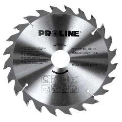Piła tarczowa z węglikiem spiekanym do drewna 184 mm 24 zęby Proline 84182