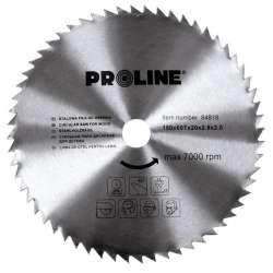 Piła tarczowa do drewna 200mm 60 zębów Proline 84820