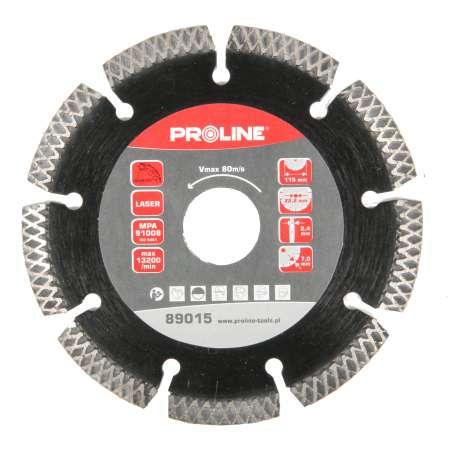 Tarcza diamentowa typ X 180x2,6x22mm Proline 89028