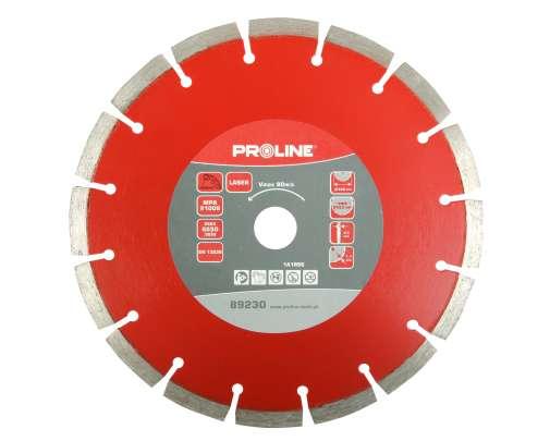Tarcza diamentowa segmentowa Laser 125x2.1x22mm Proline
