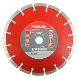 Tarcza diamentowa segmentowa Laser 125x2,1x22mm Proline 89125