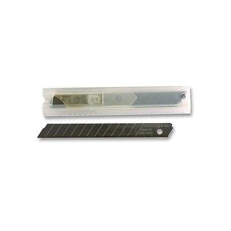 Ostrza wymienne do nożyków 9mm łamane 10 sztuk Stanley 113000