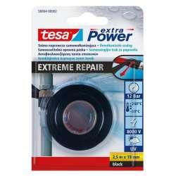 Samowulkanizująca taśma silikonowa 2,5m:19mm czarna Tesa H5606402