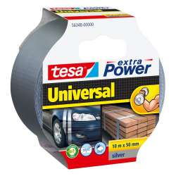 Taśma naprawcza duct tape 10m:50mm srebrna Tesa H5634800