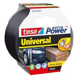 Taśma naprawcza duct tape 10m:50mm czarna Tesa H5634801
