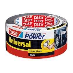 Taśma naprawcza duct tape 25m:50mm czarna Tesa H5638801