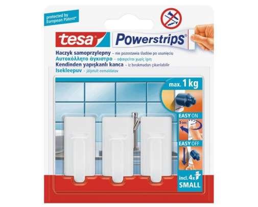 Haczyki samoprzylepne 3 sztuk 1kg Tesa H5753030