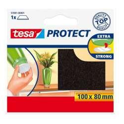 Podkładki filcowe 100x80mm brązowe Tesa H5789101