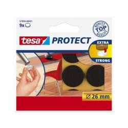 Podkładki filcowe 26mm brązowe Tesa H5789401