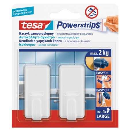 Haczyki samoprzylepne 2kg + 4 plastry Tesa H5801030