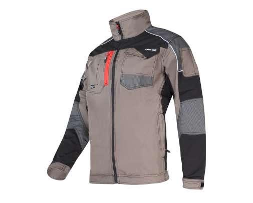 Bluza robocza slim fit khaki wstawki ze stretchu Lahti Pro L40410