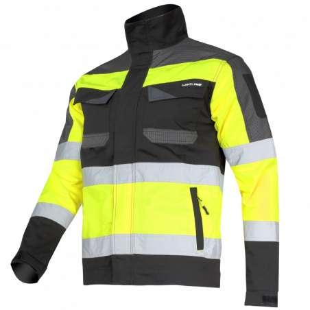 Kurtka ostrzegawcza żółto czarna Lahti Pro L4041101
