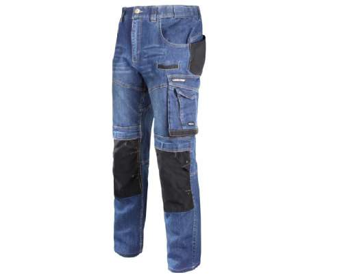 Spodnie jeansowe ze wzmocnieniami Lahti Pro L40510