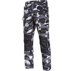 Spodnie moro bojówki ze...