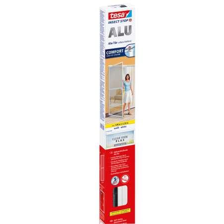 Moskitiera na drzwi 1x2,2m biała Tesa Alu COMFORT 55192-00002-00