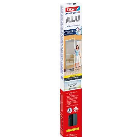 Moskitiera na drzwi 1x2,2m czarna Tesa Alu COMFORT 55192-00003-00