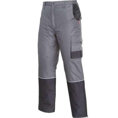 Spodnie robocze ocieplane zimowe do pasa Lahti Pro L41015