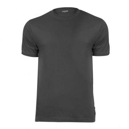 Koszulki t-shirt ciemnoszare 180g bawełniane Lahti Pro L40218