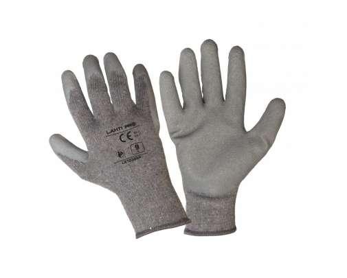 Rękawice ochronne 1 para powlekane lateksem L2103