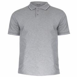 Koszulka Polo męska szara...