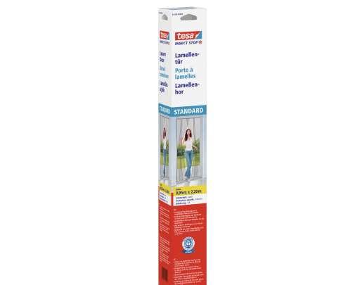 Moskitiera na drzwi lamela 2,2x0,95m biała tesa STANDARD 55198-00000-00