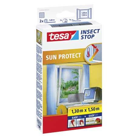 Moskitiera okienna przeciwsłoneczna 1,3x1,5m Tesa 55806-00021-00