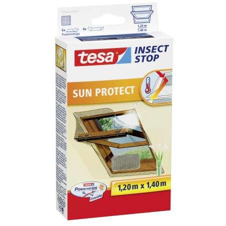 Moskitiera do okien dachowych przeciwsłoneczna 1,2x1,4m Tesa 55924-00021-00