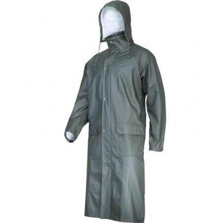 Płaszcz przeciwdeszczowy zielony poliuretan Lahti Pro L41706