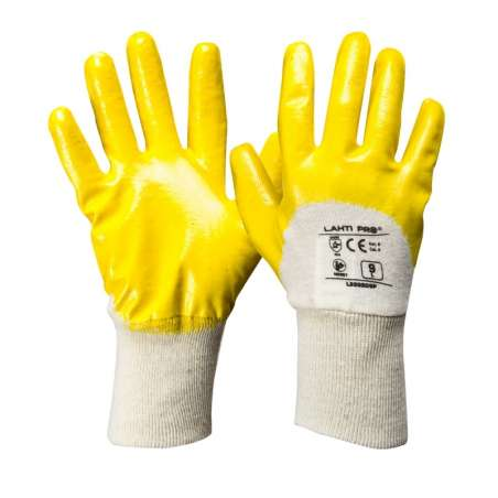 Rękawice nitryl wzmacniane 12 par Lahti Pro L2202