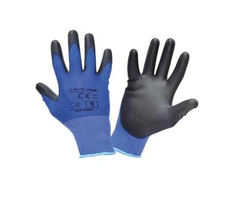 Rękawice robocze niebiesko czarne Lahti Pro L2310