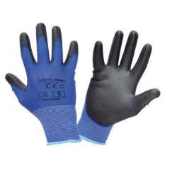 Rękawice robocze niebiesko...