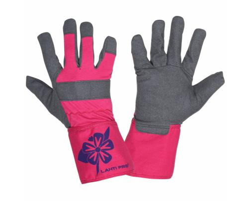 Rękawice damskie ochronne ze skóry syntetycznej Lahti Pro L2714
