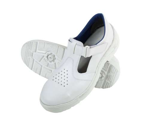 Białe sandały robocze S1 SRC do branży spożywczej lub medycznej F3060836#1