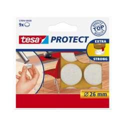 Podkładki filcowe 26mm białe Tesa H5789400