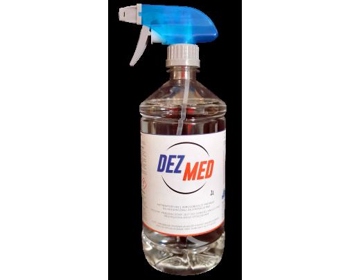 Płyn dezynfekcyjny 1 litr ze spryskiwaczem DEZ-MED 42265