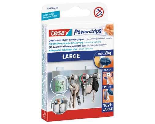 Plastry samoprzylepne 10 sztuk 2kg Tesa H5800032