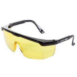 Okulary ochronne żółte z regulacją odporność mechaniczna F Lahti Pro L1500800
