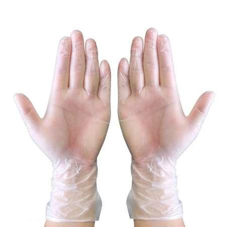 Rękawice medyczne jednorazowe winylowe 100 sztuk