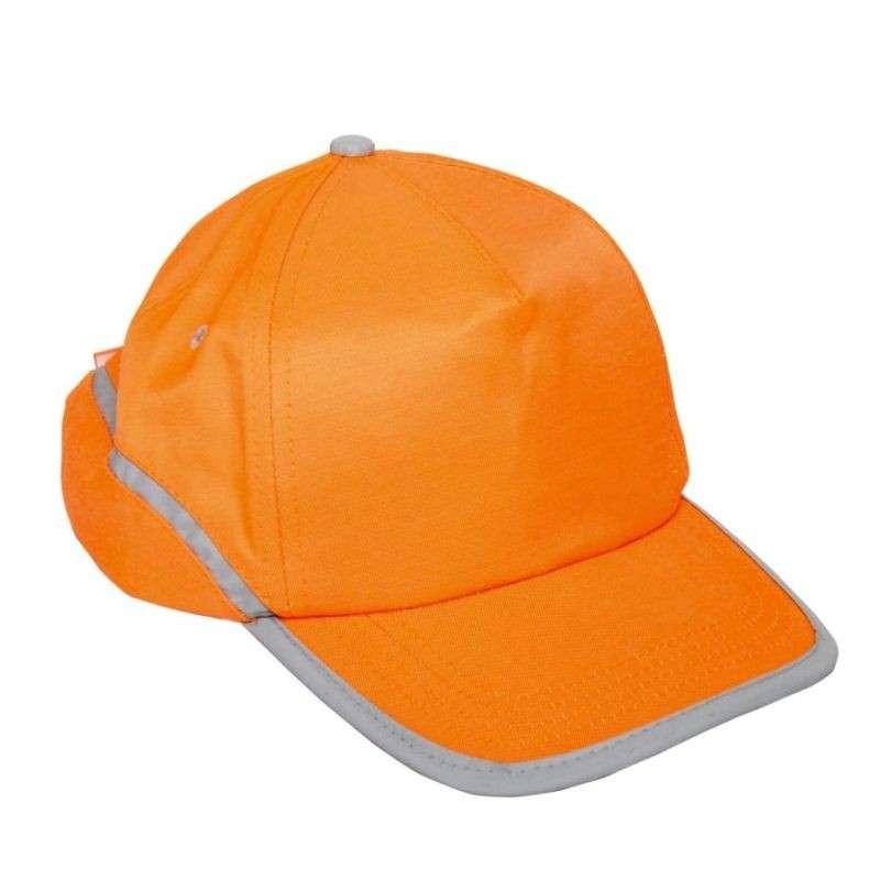 Czapka bejsbolówka odblaski pomarańczowa 12 sztuk Lahti Pro L1010100