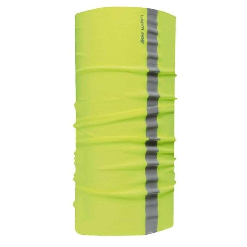 Chusta bandana opaska żółta z odblaskiem Lahti Pro L1030100