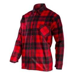Koszula flanelowa czerwona...