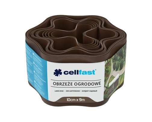 Obrzeże ogrodowe brązowe 10cm X 9mb Cellfast CF30011