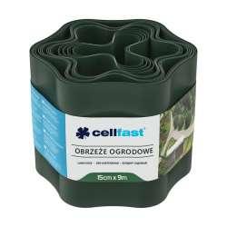 Obrzeże ogrodowe ciemnozielone 15cm X 9mb Cellfast CF30022