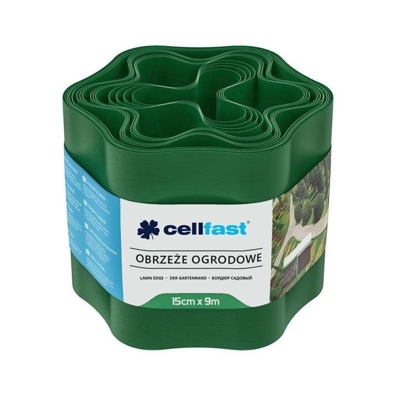 Obrzeże ogrodowe zielone 15cm X 9mb Cellfast CF30002