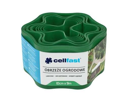 Obrzeże ogrodowe zielone 10cm X 9mb Cellfast CF30001
